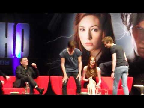 Matt Smith, Karen Gillan And Arthur Darvill - Doctor Who Convention