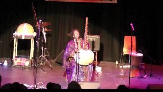 Jally Kebba Susso at the Brighton Kora Festival 2011