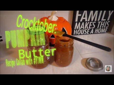 Crockpot Pumpkin Butter Recipe : YTMM Collab CROCKTOBER | VlogOween
