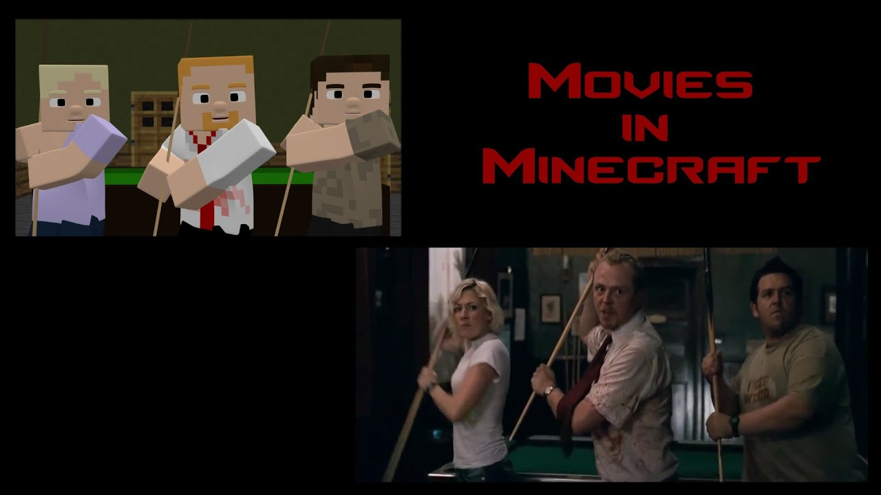 Compared with Original - Shaun Of The Dead Don't Stop Me Now Scene