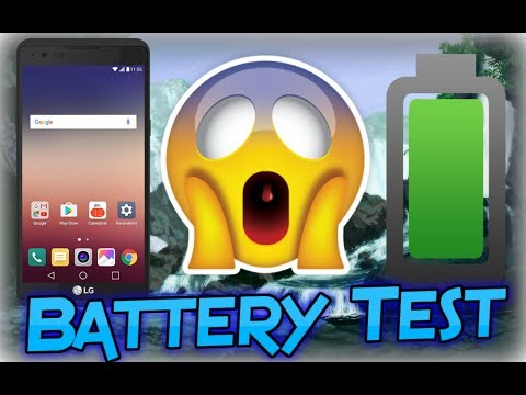 LG X Power Battery Life Test