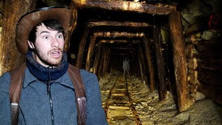 EXPLORING THE ABANDONED MINES OF CERRO GORDO GHOST TOWN!