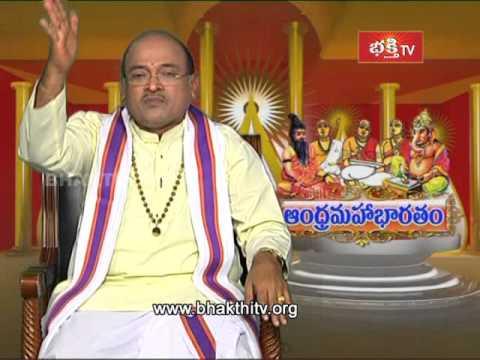 Garikipati Andhra Mahabharatam - Drona Parvam (Episode 1192   Part 3)