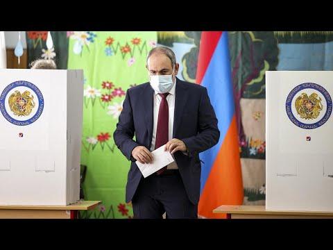 باشينيان يعلن فوزه بالانتخابات التشريعية في أرمينيا وخصمه يتهمه بالتزوير…  - نشر قبل 4 ساعة