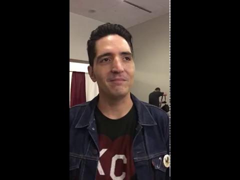 2017 Planet Comicon Kansas City interview with actor David Dastmalchian