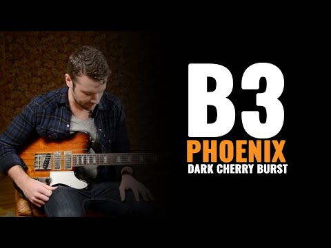 b3 Phoenix Driftwood in Dark Cherry Burst | CME Gear Demo