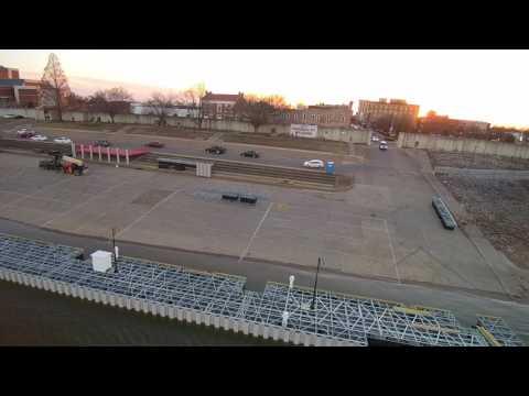 Floating dock construction Feb 17 2017