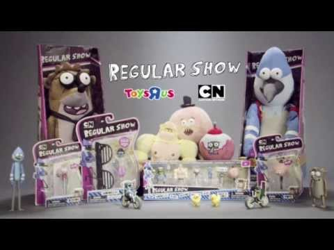 Regular Show - Cartoon Network - TV Toy Commercial - TV Spot - TV Ad - Toys R Us