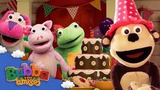 ¡Feliz cumpleaños Bubba! | Mono Bubba y sus amigos