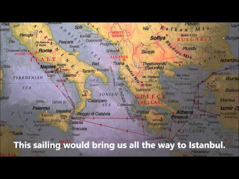 Norwegian Jade Itinerary Greece Turkey Cruise Map