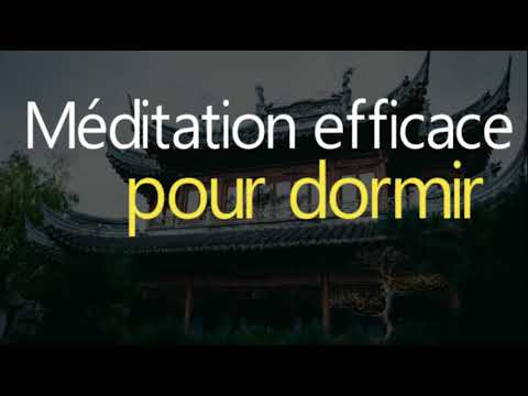 m ditation efficace pour dormir 2018 m ditation pour le sommeil youtube. Black Bedroom Furniture Sets. Home Design Ideas