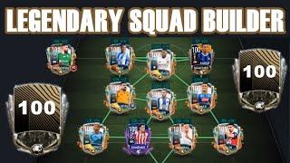 THE CHEAPEST FULL LEGENDARY SQUAD BUILDER (PART 2) | FIFA MOBILE 20