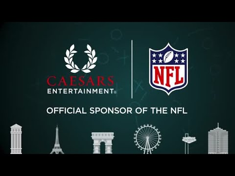 Caesars Entertainment is NFL's First-Ever Official Casino Sponsor