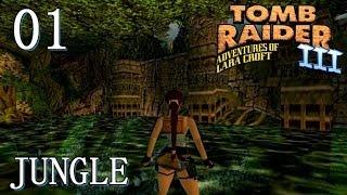 [HD] Tomb Raider 3 Walkthrough -  Lvl 1: Jungle (PC)