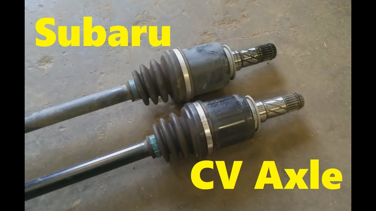 2015 Subaru Forester Cv Axle Replacement Youtube Rear Diagram