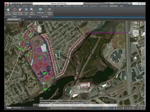 AutoCAD 2015: Geographical Location Enhancements
