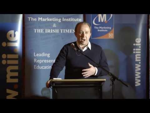 Marketing Institute Marketing Breakfast with Nigel Blow 24 October 2012