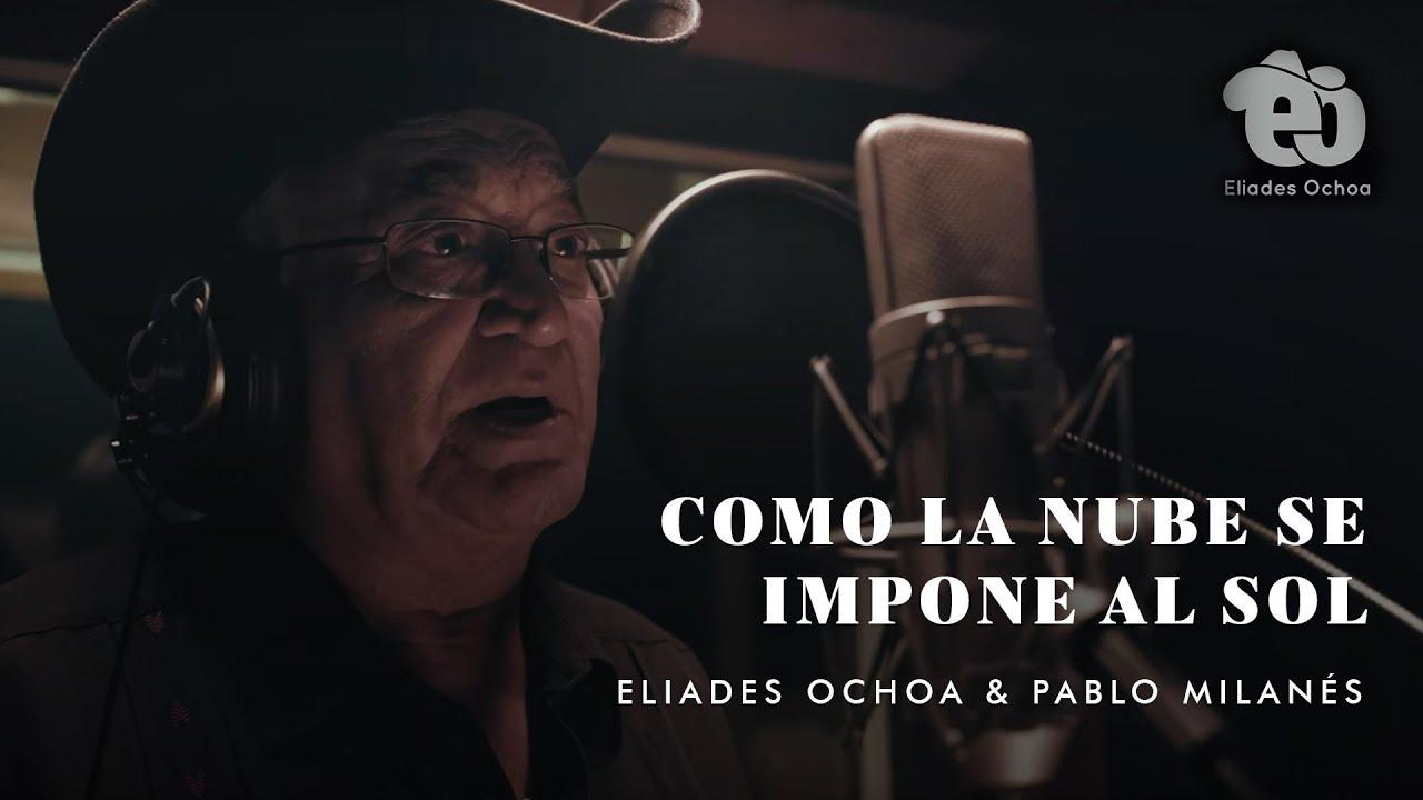 Els núvols s'imposen el sol i això precísament és el que ens explica Eliades Ochoa, un guitarrista i cantant cubà. i Pablo Milanés, cantautor i guitarrista, també cubà. Una preciosa cançó per amenitzar un dia que en molts moments podrà posar-se gris.