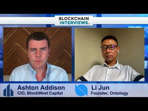 Li Jun, The Founder of Ontology   Blockchain Interviews