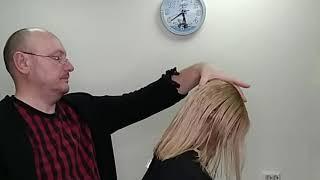 Видеоурок 19 Женская стрижка на длинных волосах.