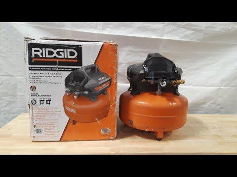 ridgid-6-gallon-pancake-air-compressor-unboxing!!!!!!!.(high-ridge-handyman)