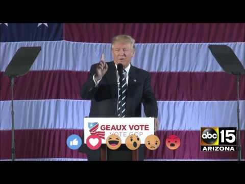 Donald Trump mocks election recount in Baton Rouge, LA