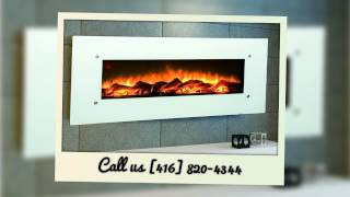 Best Wall Mounted Electric Fireplace Toronto - (416) 820-4344