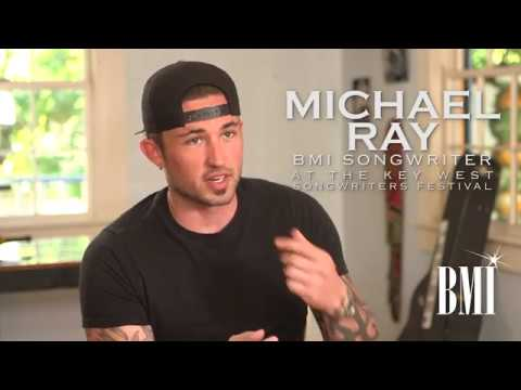 BMI songwriter Michael Ray interviewed at the 2017 Key West Songwriters Festival