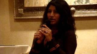 payal mandewalkar singing Tinka Tinka Zara Zara