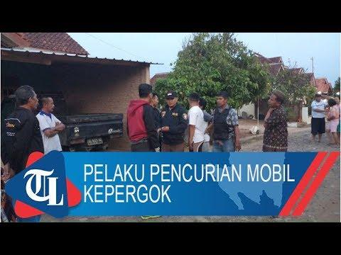 Pelaku Pencurian Mobil Di Pringsewu Kepergok | Tribun News Lampung Video