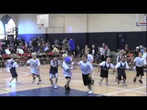 Marv Albert calls a 1st grade basketball game