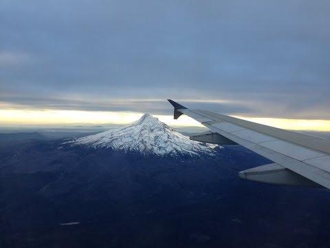 Delta Airlines Full Flight: Salt Lake City-Portland