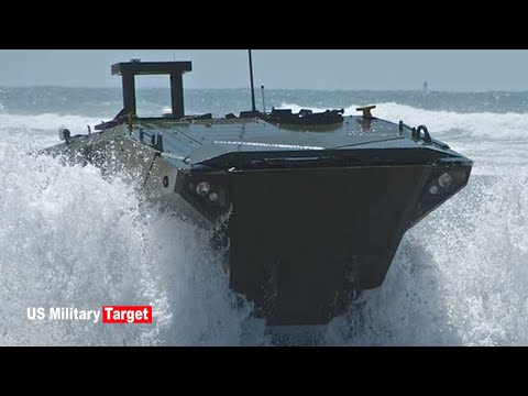 For First Time: US Marines Test Newest Amphibious Vehicle's Ability To Integrate With Naval Shipping