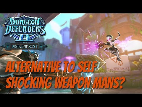 DD2 Self Shocking Weapon Man Alternative!