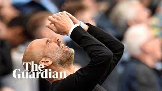 Pep Guardiola says 'it was déjà vu' after VAR ruled out late goal against Spurs