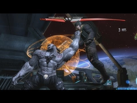 Injustice: Gods Among Us DLC - Red Son Green Lantern vs