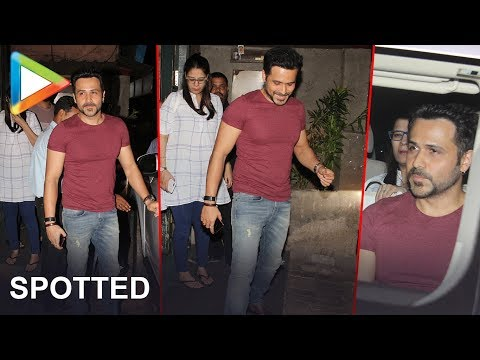 Emraan Hashmi Spotted At Sunny Super Sound