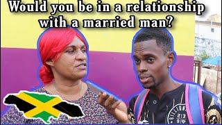 Would You Be In A Relationship With A Person Who Is Married ? | Public Interview