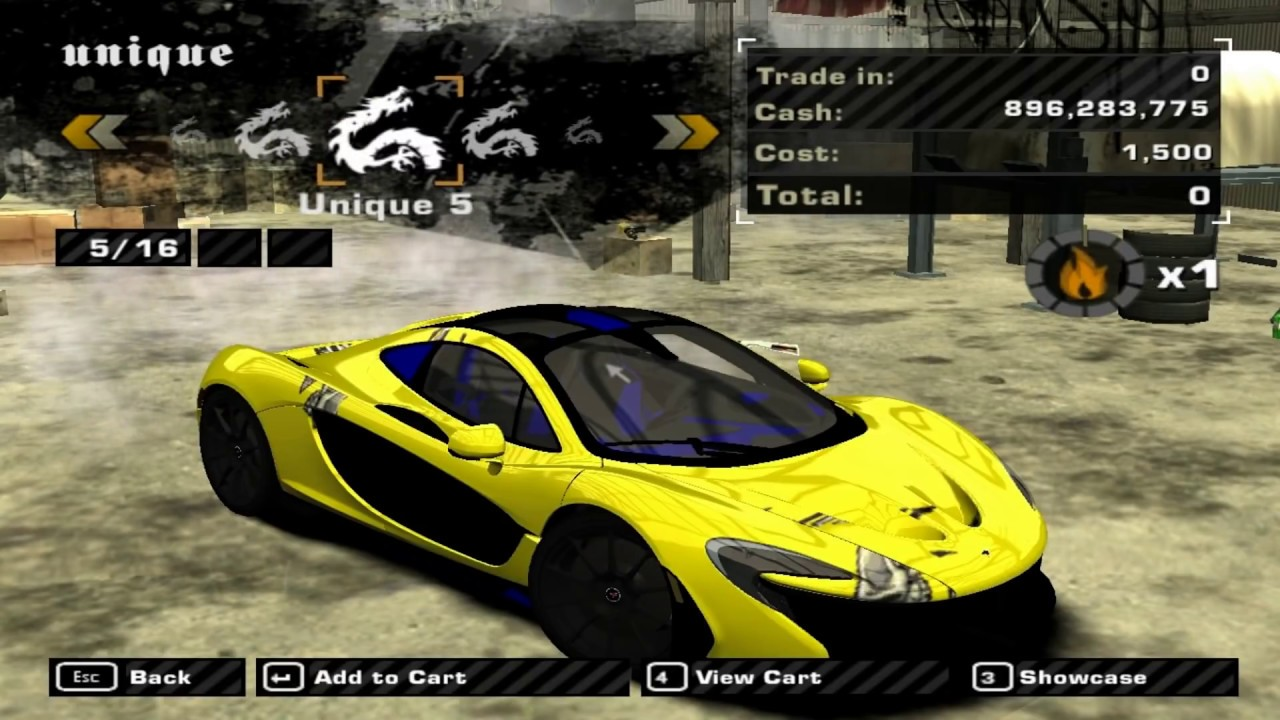 Mclaren P1 2014 Mod For Need For Speed Most Wanted 2005 Youtube
