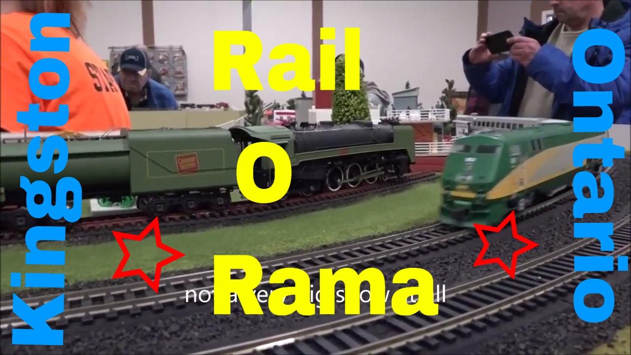 Kingston Train Show Rail O Rama Quick Look At The Operating Layout Displays