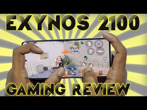 Samsung S21+ Exynos 2100 Gaming Review ll in Telugu ll