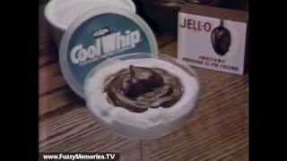 Cool Whip & Jell-O Pudding Commercial with Marge Redmond & Bill Cosby--Pudding In A Cloud (1980)