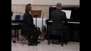 San Fedele Martire - Roma - 8 dic 2013 - Alessandro Carboni (piano) - L.Einaudi-Le Onde