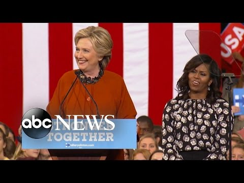 Hillary Clinton, Michelle Obama Bond Over First Lady Experience