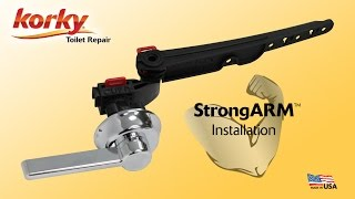 How to Install StrongARM Tank Lever by Korky