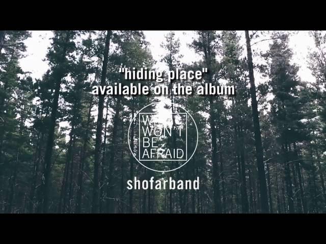 ShofarBand - Hiding Place [Lyric Video]