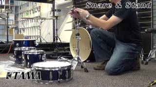 How To Assemble The Tama Imperialstar Drum Set