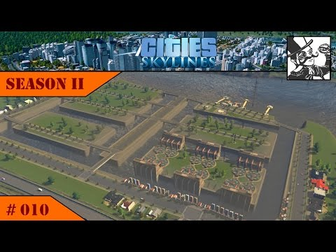 Cities Skylines Season II: #010 Building a harbor area