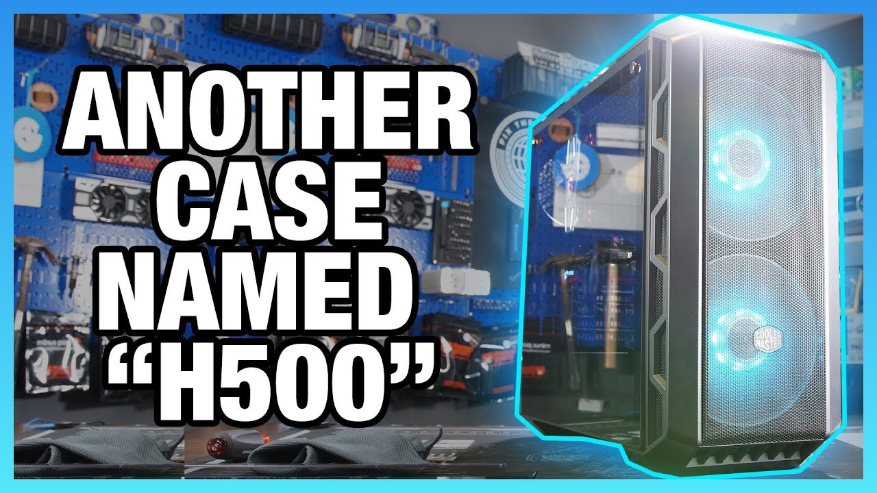 aee7d8d62a7 Cooler Master H500 Case Review: Strongly Recommended at Its Lower Price    GamersNexus - Gaming PC Builds & Hardware Benchmarks