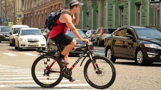 видео Можно ли ехать на велосипеде по пешеходному переходу